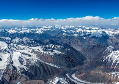 Au dessus de la vallée de Shimshal