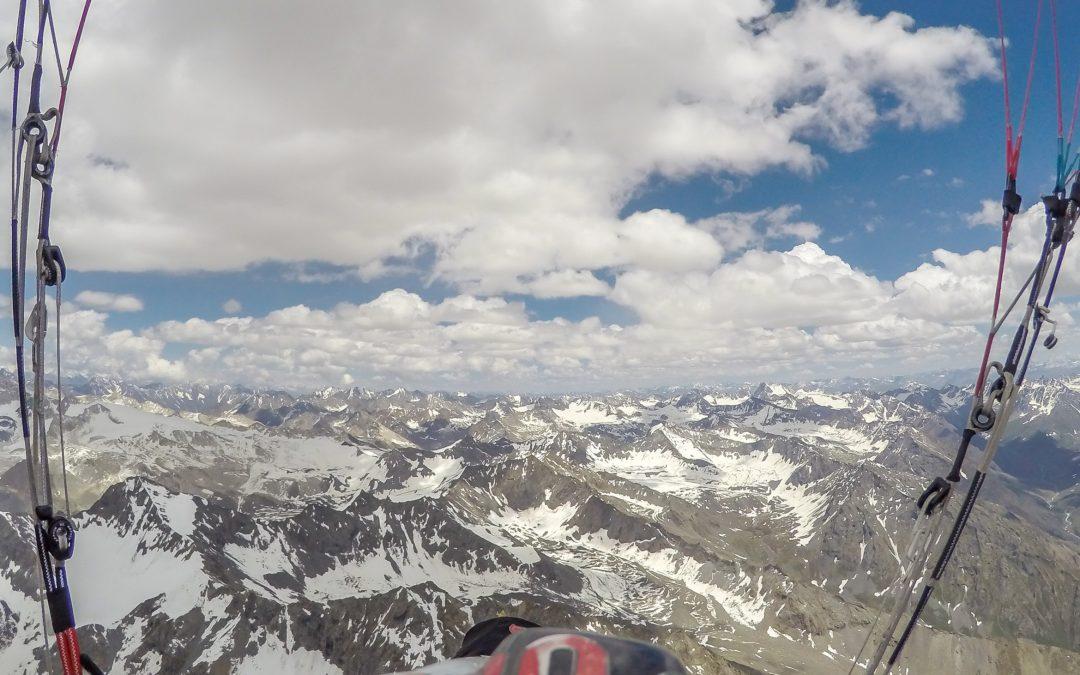 Record du Monde d'altitude par Antoine Girard