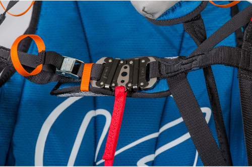 Anti-forgetful chest strap