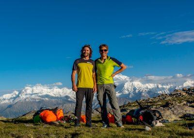Devant le Nanga Parbat
