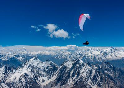 Des plafond à plus de 7000m au dessus de Shimshal