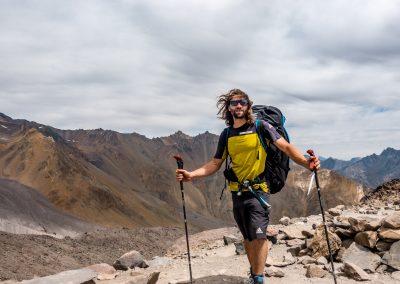 Montée au volcan San José (5856m)