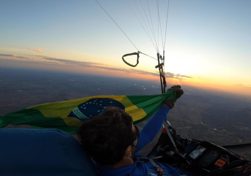 Record du monde à but fixé 530 kms – Rafael Saladini