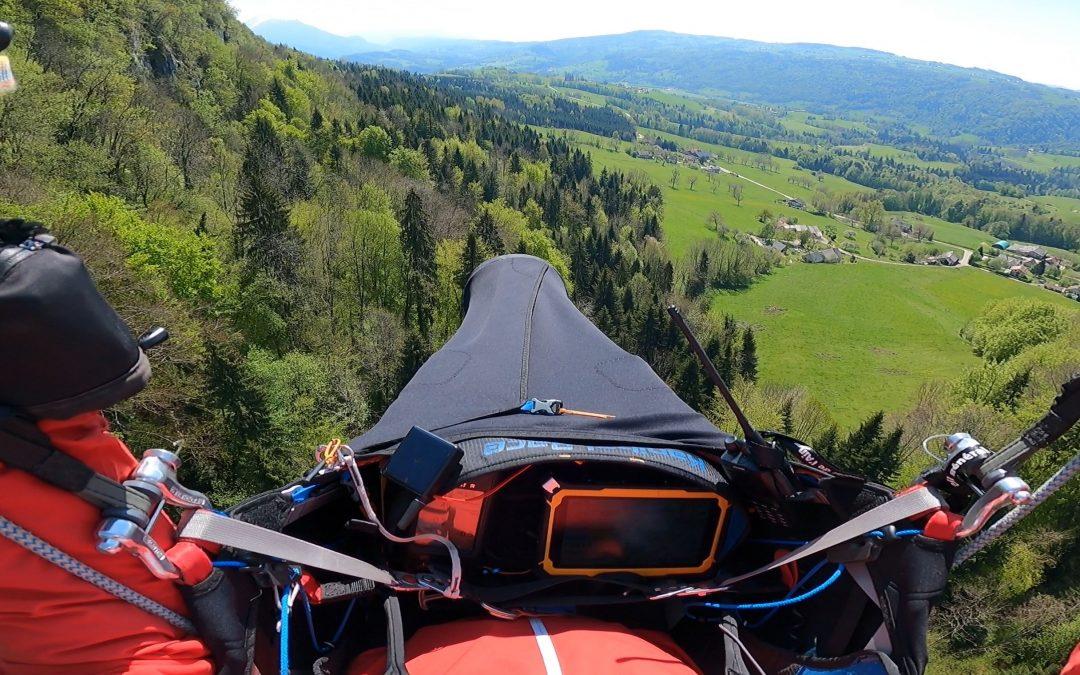 244 kms dans le Jura …